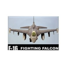 F-16 Falcon Fighter Rectangle Magnet