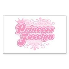 """Princess Jocelyn"" Rectangle Decal"