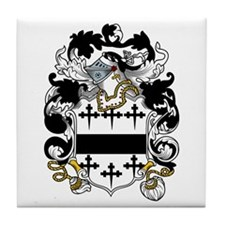 Layton Family Crest Tile Coaster