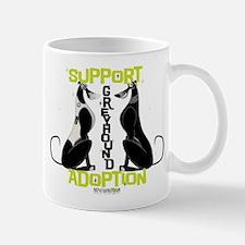 Support Greyhound Adoption Mug