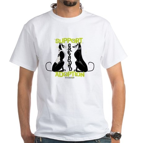 Greyhound T Shirts Rescue Support Greyhound Adop...