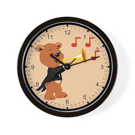 Musical Teddy Wall Clock
