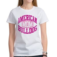 AMERICAN BULLDOG MOM Tee