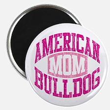 "AMERICAN BULLDOG MOM 2.25"" Magnet (100 pack)"