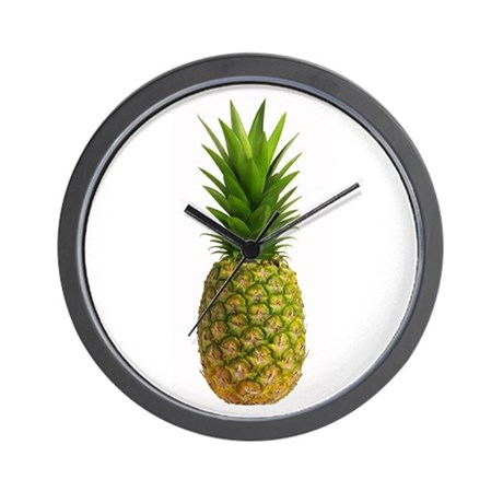 Pineapple Day Wall Clock
