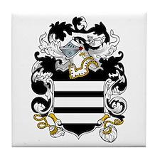 Lea Family Crest Tile Coaster