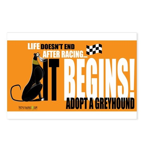 Life After Racing Postcards (Package of 8)