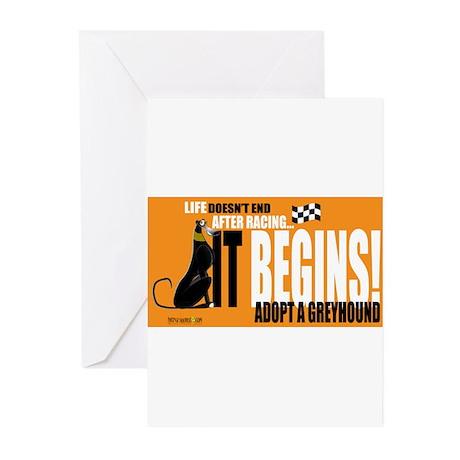 Life After Racing Greeting Cards (Pk of 10)