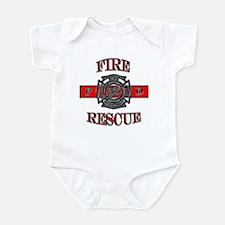 Fire Rescue Infant Bodysuit