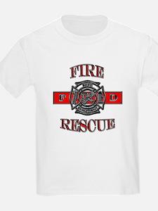 Fire rescue t shirts shirts tees custom fire rescue for Custom fire t shirts