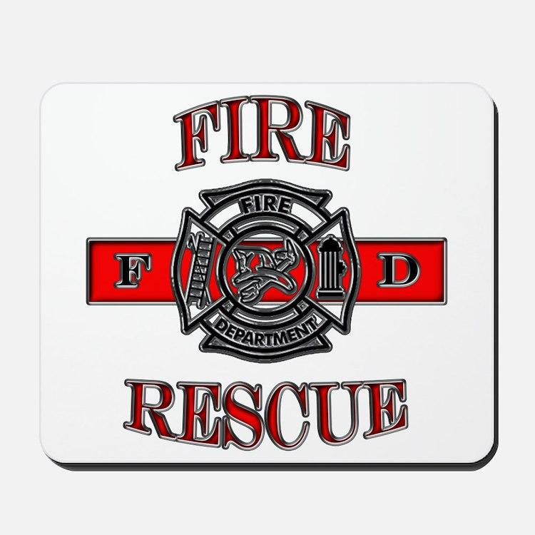 Fire Rescue Mousepad