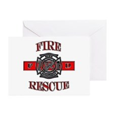Fire Rescue Greeting Cards (Pk of 10)