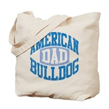 AMERICAN BULLDOG DAD Tote Bag