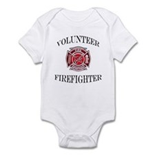 Volunteer Firefighter Infant Bodysuit