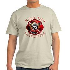 Bad Ass Firefighter T-Shirt