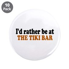 "Tiki Bar 3.5"" Button (10 pack)"