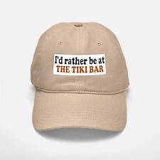 Tiki Bar Baseball Baseball Cap