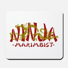 Dragon Ninja Marimbist Mousepad