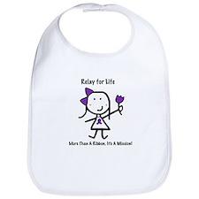 Purple Ribbon - Relay for Life Bib