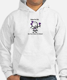 Purple Ribbon - Relay for Life Hoodie