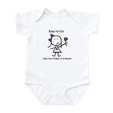 Purple Ribbon - Relay for Life Infant Bodysuit