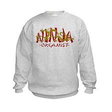 Dragon Ninja Organist Sweatshirt