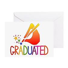 Graduated Greeting Card