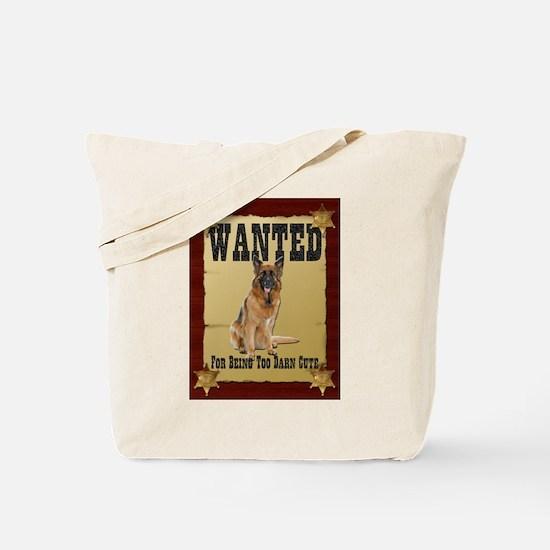 Wanted Poster Belgian Tervuren Tote Bag