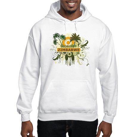 Palm Tree Zimbabwe Hooded Sweatshirt