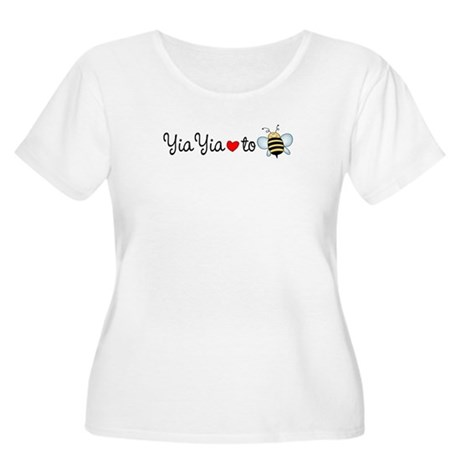 YiaYia to Be Women's Plus Size Scoop Neck T-Shirt