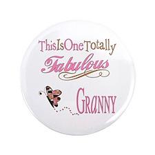 "Fabulous Granny 3.5"" Button"