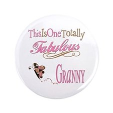 "Fabulous Granny 3.5"" Button (100 pack)"