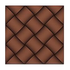 Diagonal Weave 01 Tile Coaster