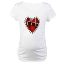 Caged, Barbed Heart Shirt