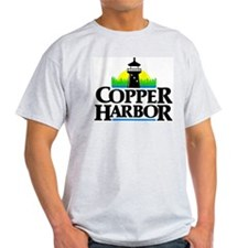 Copper Harbor Ash Grey T-Shirt