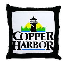 Copper Harbor Throw Pillow