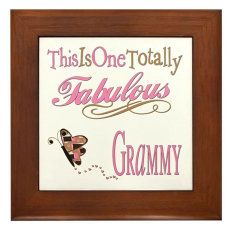 Fabulous Grammy Framed Tile