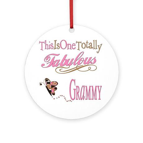 Fabulous Grammy Ornament (Round)