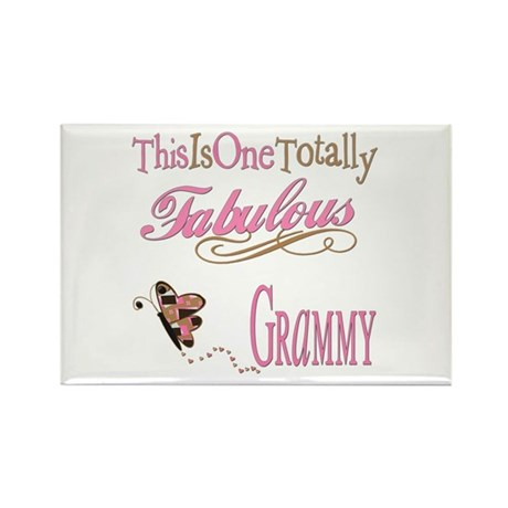 Fabulous Grammy Rectangle Magnet