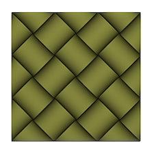 Diagonal Weave 04 Tile Coaster