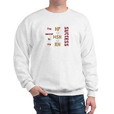 Funny Rn nursing graduation Sweatshirt