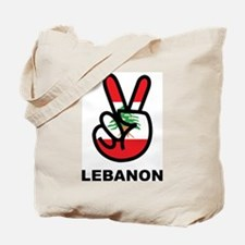 Peace In Lebanon Tote Bag