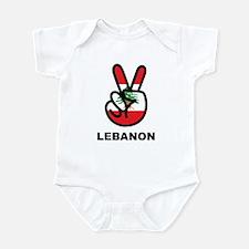 Peace In Lebanon Infant Bodysuit