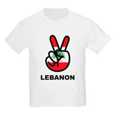 Peace In Lebanon T-Shirt