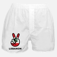 Peace In Lebanon Boxer Shorts