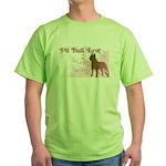 Pit Bull Love Green T-Shirt
