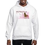 Pit Bull Love Hooded Sweatshirt