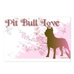 Pit Bull Love Postcards (Package of 8)