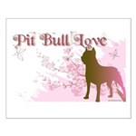 Pit Bull Love Small Poster