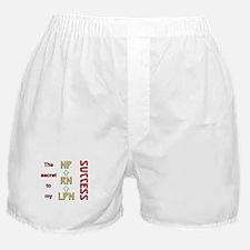 Cute Lpn graduation Boxer Shorts